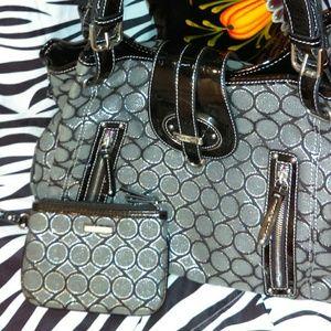 NWOT NINE WEST purse set